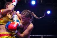 World professional champion muay thai Lucie Mudrochová Praha