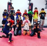 Děti - kickbox v létě - ZDARMA