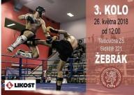 Žebrák a další kolo ligy K-1 26.květen 2018