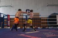 Tréninky, zápasy - thai box, kickbox K-1, Praha 5 - Smíchov