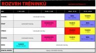 Rozvrh - Mudroch team tréninky thaibox, mma, bjj