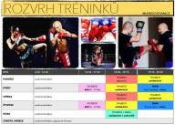 Rozvrh 2018 - Mudroch team - Thai box, MMA Praha Smíchov