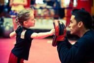 Dětské lekce kickboxu