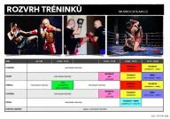 Rozvrh - tréninky - THAI BOX, MMA, BJJ - Mudroch team Praha