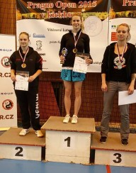 Prague open 2015 - Lucka Vacová a kickbox