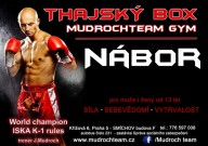Thajský box, tréninky pro začátečníky